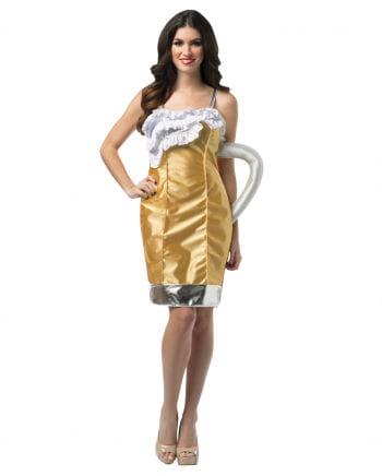 Maßkrug Kostüm für Damen