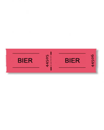 Biermarken-Rolle 1000 Abrisse