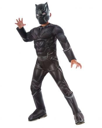 Muskel-Kinderkostüm Black Panther
