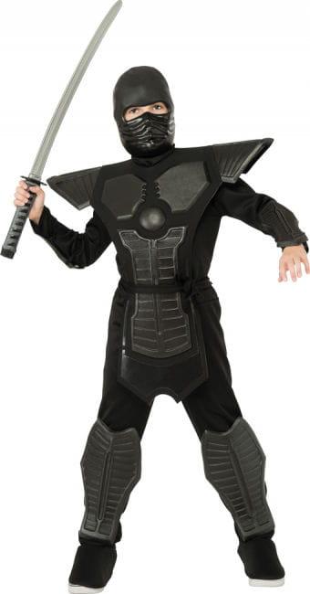 Black Ninja Kinderkostüm