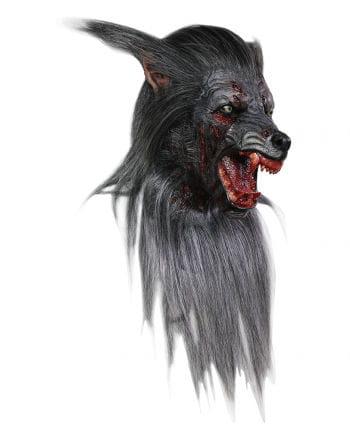 Black Wolf Maske