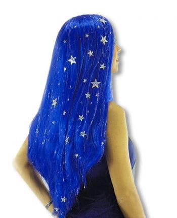 Blaue Fee Perücke
