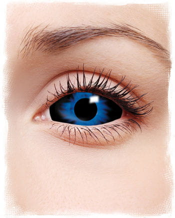 Sclera contact lenses dark blue