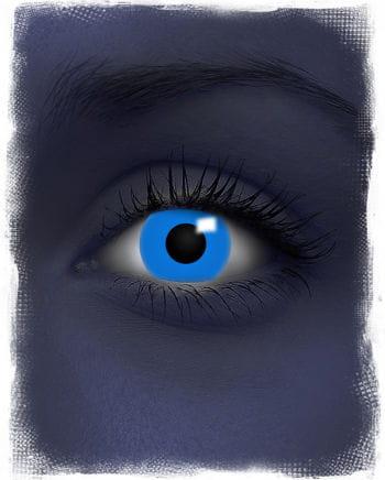 UV aktive Kontaktlinsen blau
