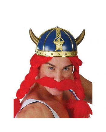 Blue Gauls helmet