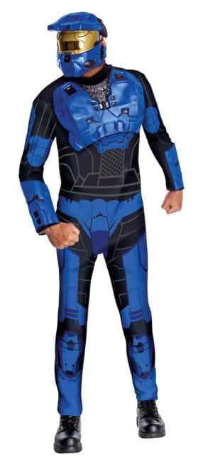Blauer Spartaner Halo Kostüm