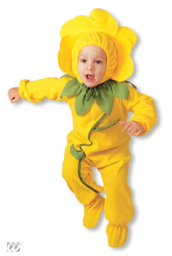 Floral Toddler Costume yellow