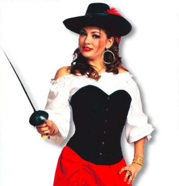 Piraten Bluse weiß