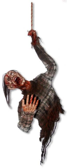 Zombie Torso Hanging Figure