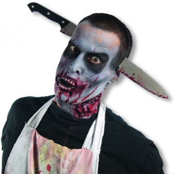 Bloody Zombie kitchen knife headdress