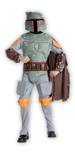 Boba Fett Kinder Kostüm Deluxe