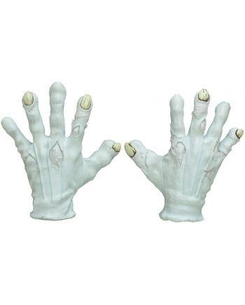 Böser Clown Hände aus Latex