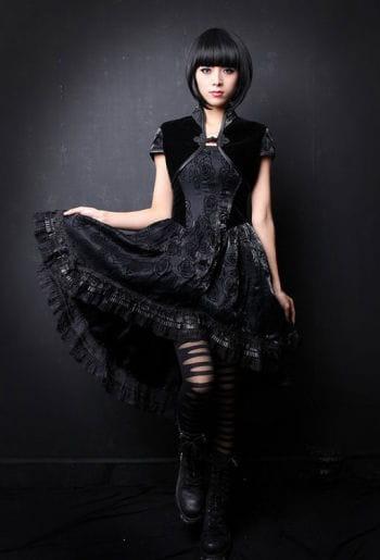 Romantic Dress with Bolero Top