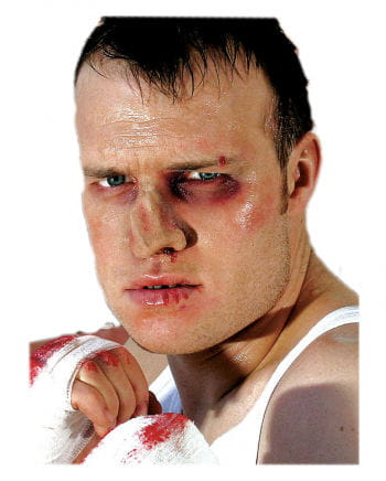 Boxer nose wound