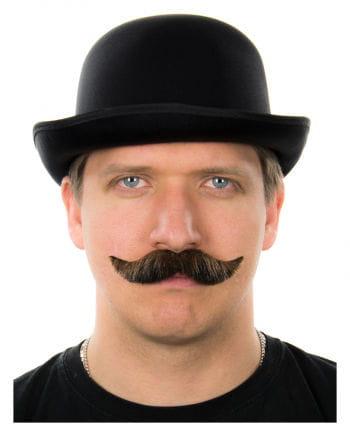 Mustache Brown-Black Heather
