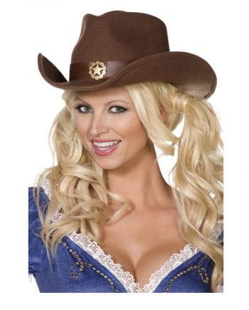 Authentischer Cowboyhut aus Filz