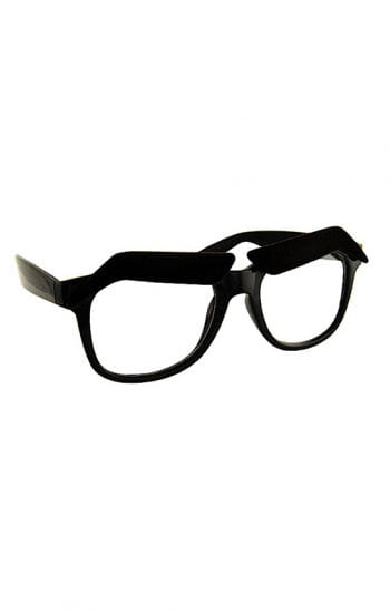 Brauenhafte Brille