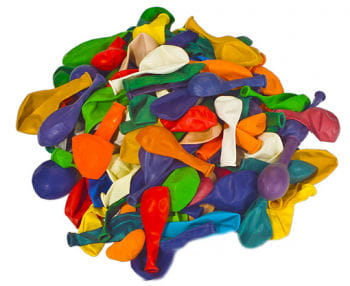Colorful balloons Bulk Pack 120 St