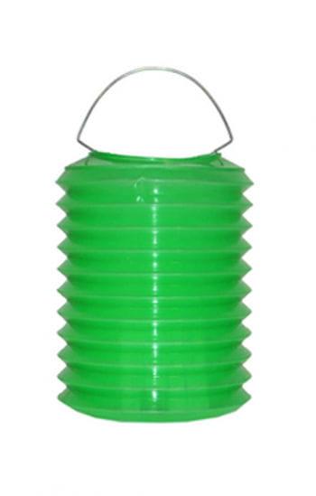 Bunte Lampions aus Kunststoff grün