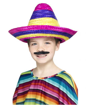 Colorful children sombrero hat