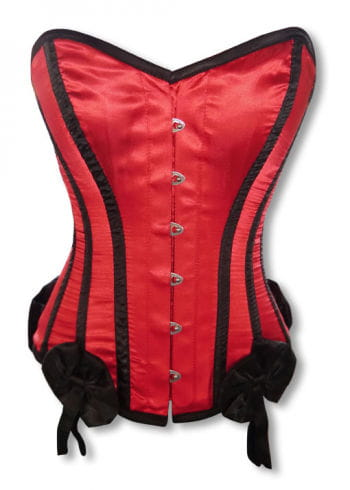Burlesque Corset with bows