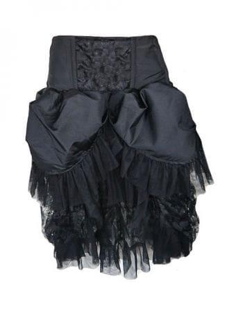 Burlesque taffeta skirt