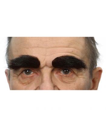 Self eyebrows dark brown