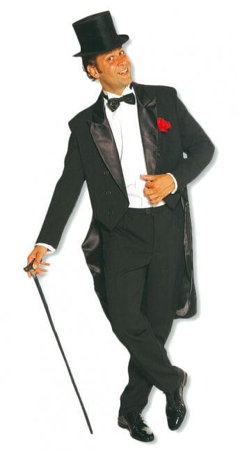 Cabaret Herren Kostüm schwarz
