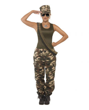 Camouflage Ladies Costume