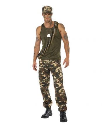 Camouflage Men's Costume