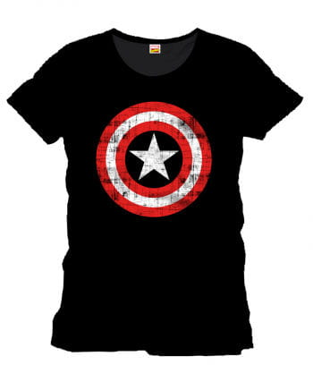 Captain America Frauen T-Shirt The Shield