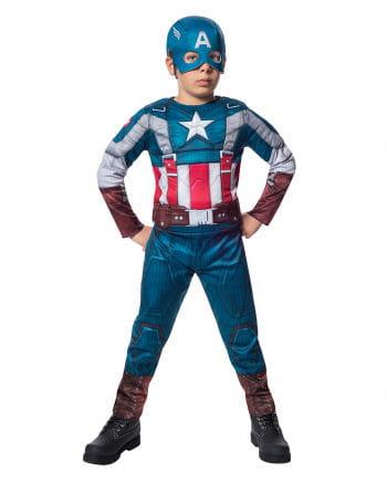 Lizenziertes Captain America Kostüm für Kinder