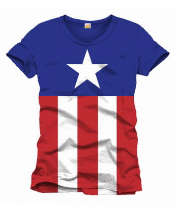 Captain America Stars and Stripes T-Shirt