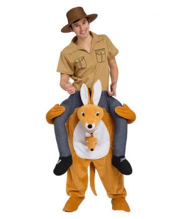 Känguru Huckepack Kostüm