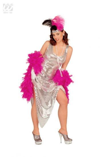 Celebrity Silver Sequin Dress