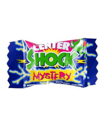 Center Shock chewing gum Mystery