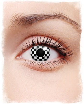 Motivlinse Checkered