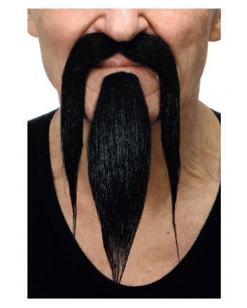 Samurai Bart schwarz