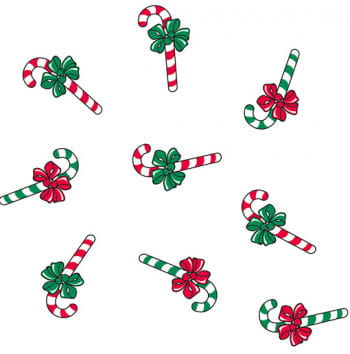 Christmas Gift Wrap Candy Cane