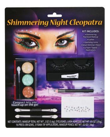 Kleopatra Schmink Set mit Wimpern