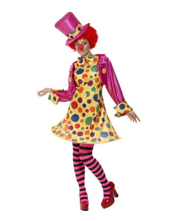 Clownfrau Zirkuskostüm XL