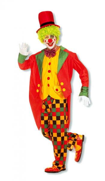 Clown Kostüm mit Frack S