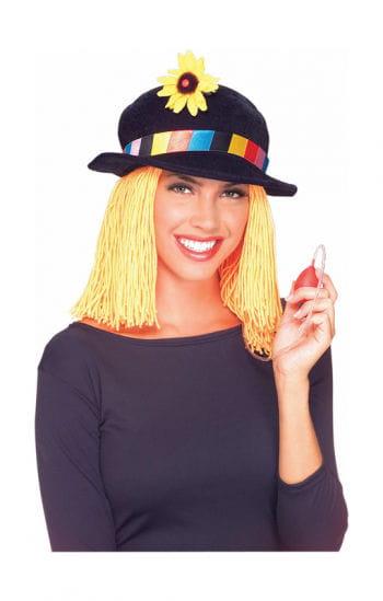 Clown Hat with Hair