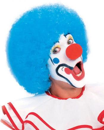 Blaue Clown Perücke