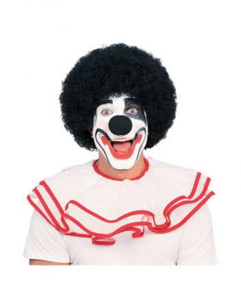 Clown Perücke Premium schwarz