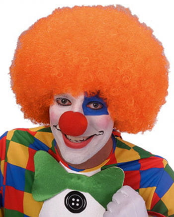 Orange Clown Perücke