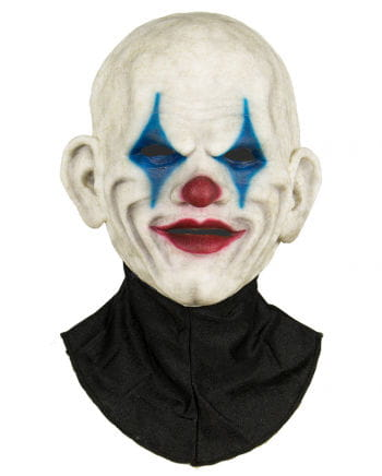 Clown Halbmaske aus Silikon