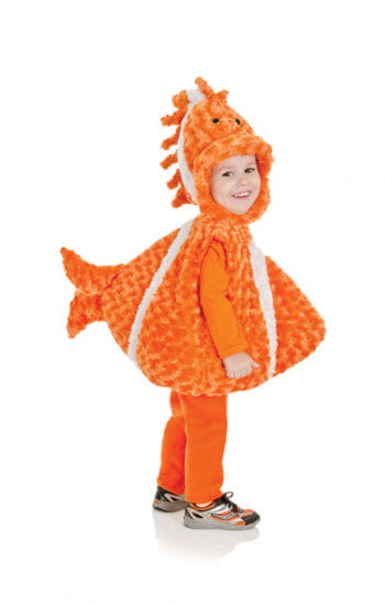 Clownfisch Plüsch-Kinderkostüm