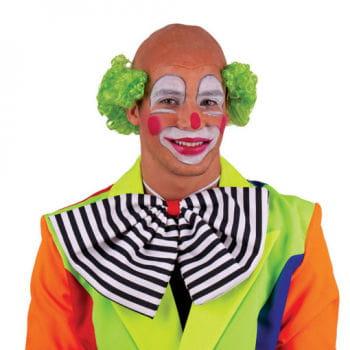 Clown Glatze mit grünem Haar