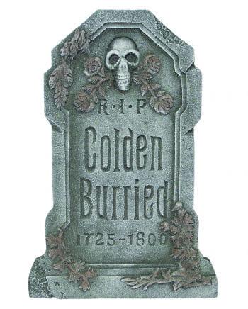 Halloween Grabstein Colden Burried
